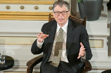 Bill Gates says conspiracy theorists 'secretly rule the world'