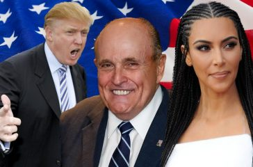 Trump sacks Giuliani, replaces him with Kim Kardashian