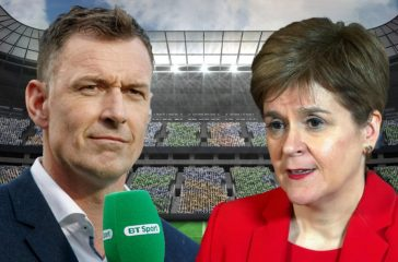 FOOTBALL PUNDIT CHRIS SUTTON BLASTS NICOLA STURGEON