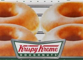 KRISPY KREME TO GIVE OUT FREE DOUGHNUTS IF YOU'VE BEEN VACCINATED