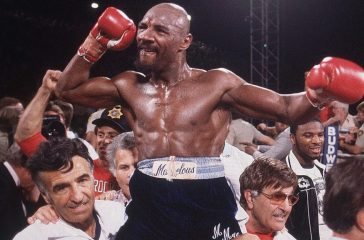 BOXING GREAT MARVIN HAGLER DIES