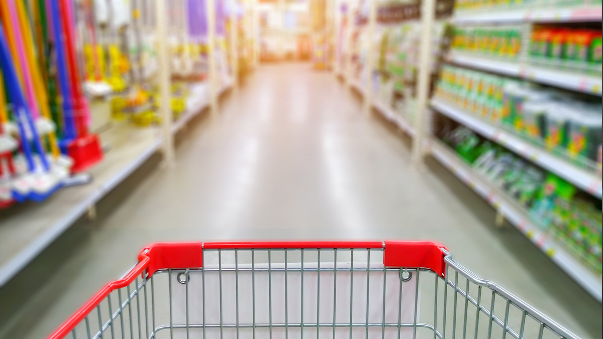 Supermarkets have become void of atmosphere since the restrictions were put in place