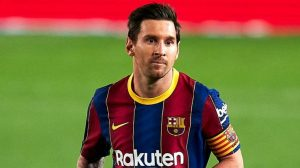 MESSI SENT OFF FOR THE FIRST TIME IN HIS BARCA CAREER